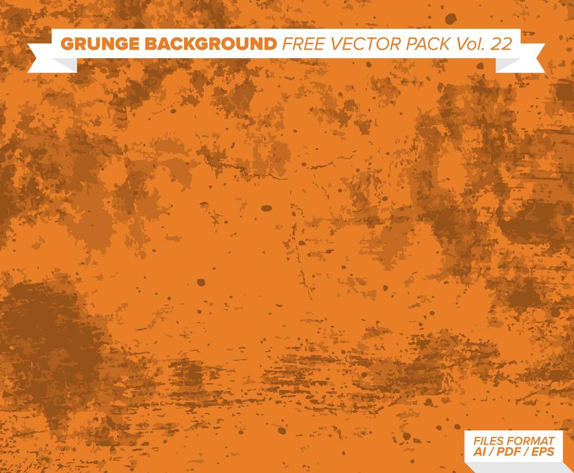 Grunge Background Free Vector Pack Vol. 22