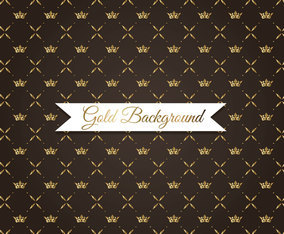 Gold Crown Background