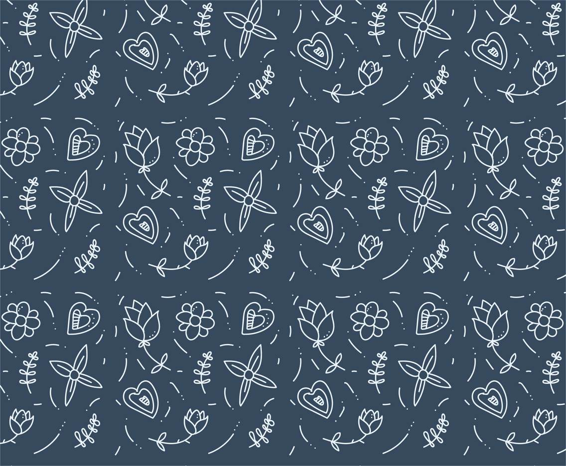 Free Floral Pattern #8