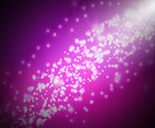 Pink Sparkles Background Vector