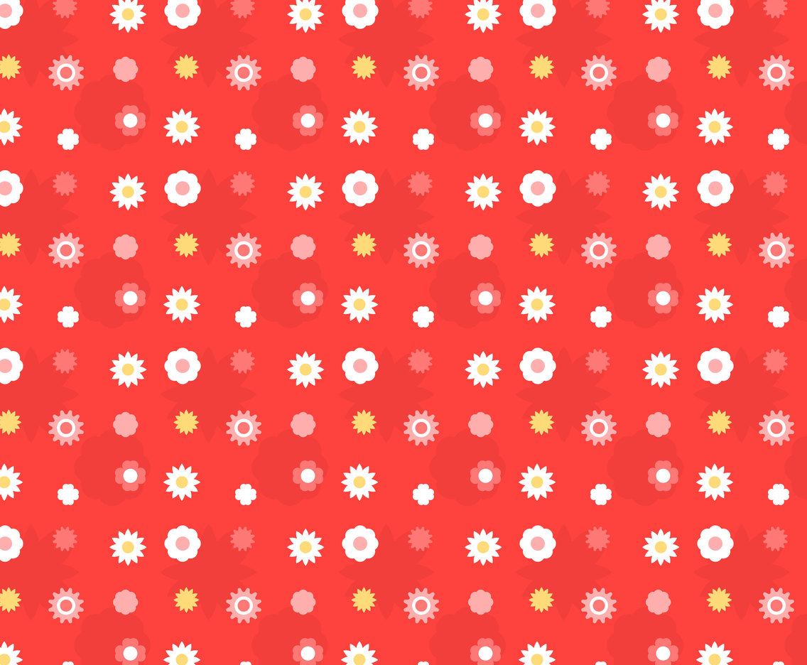 Free Floral Pattern #7