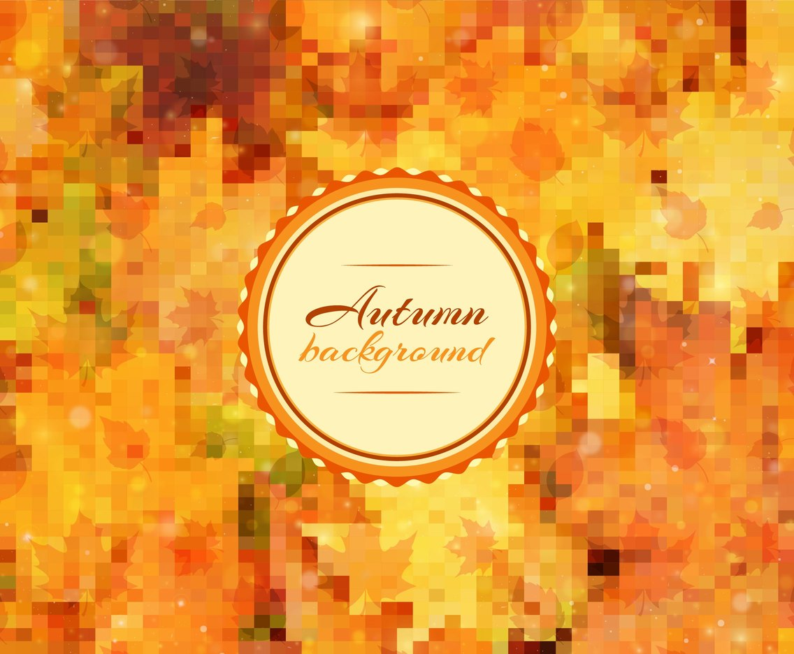 Free Vector Fall Background