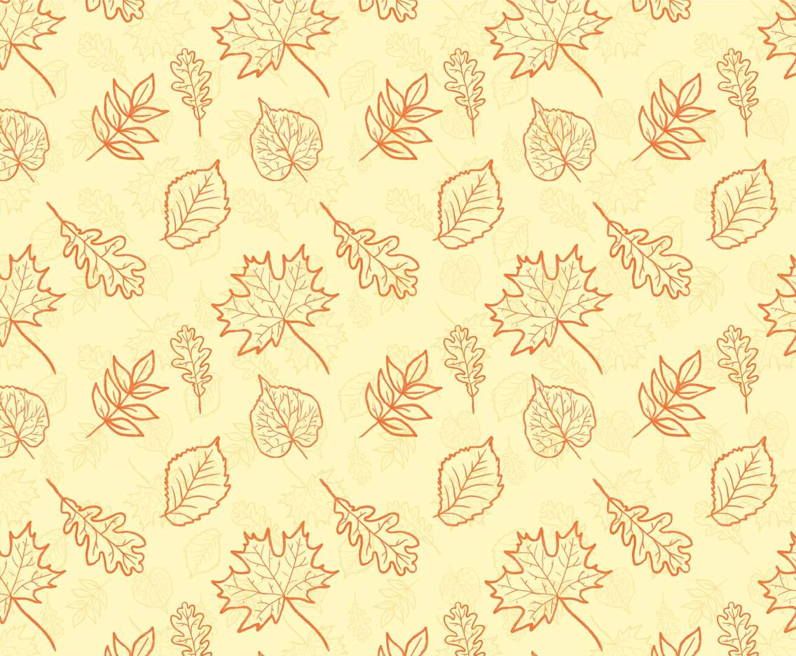 Free Vector Autumn Hand Draw Background