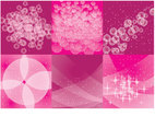 Pink Sparkles Vector