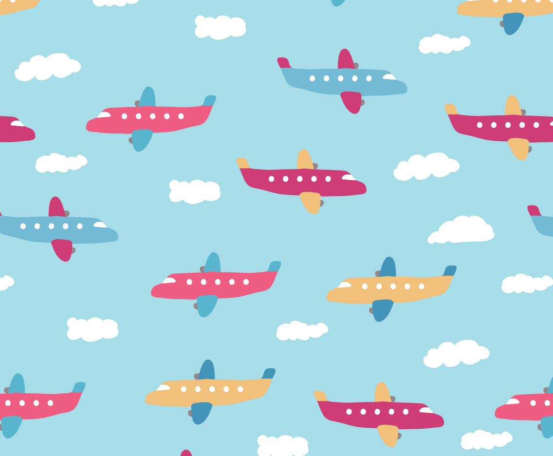 Planes Pattern Vector Art Graphics