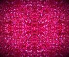 Pink Sparkles Blurring Background