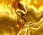 Liquid Golden Vector Background