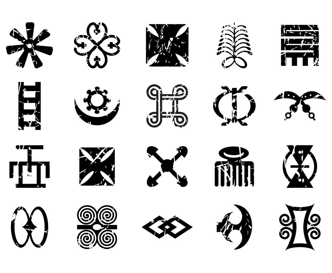 Free African Symbols Vector