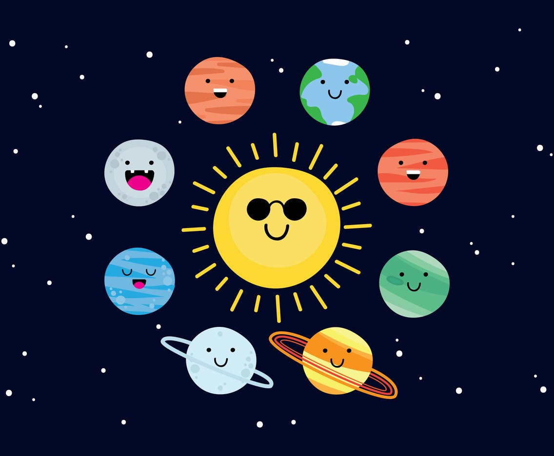 Sun And Friends Vectors
