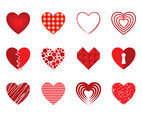 Free Decorative Heart Vectors