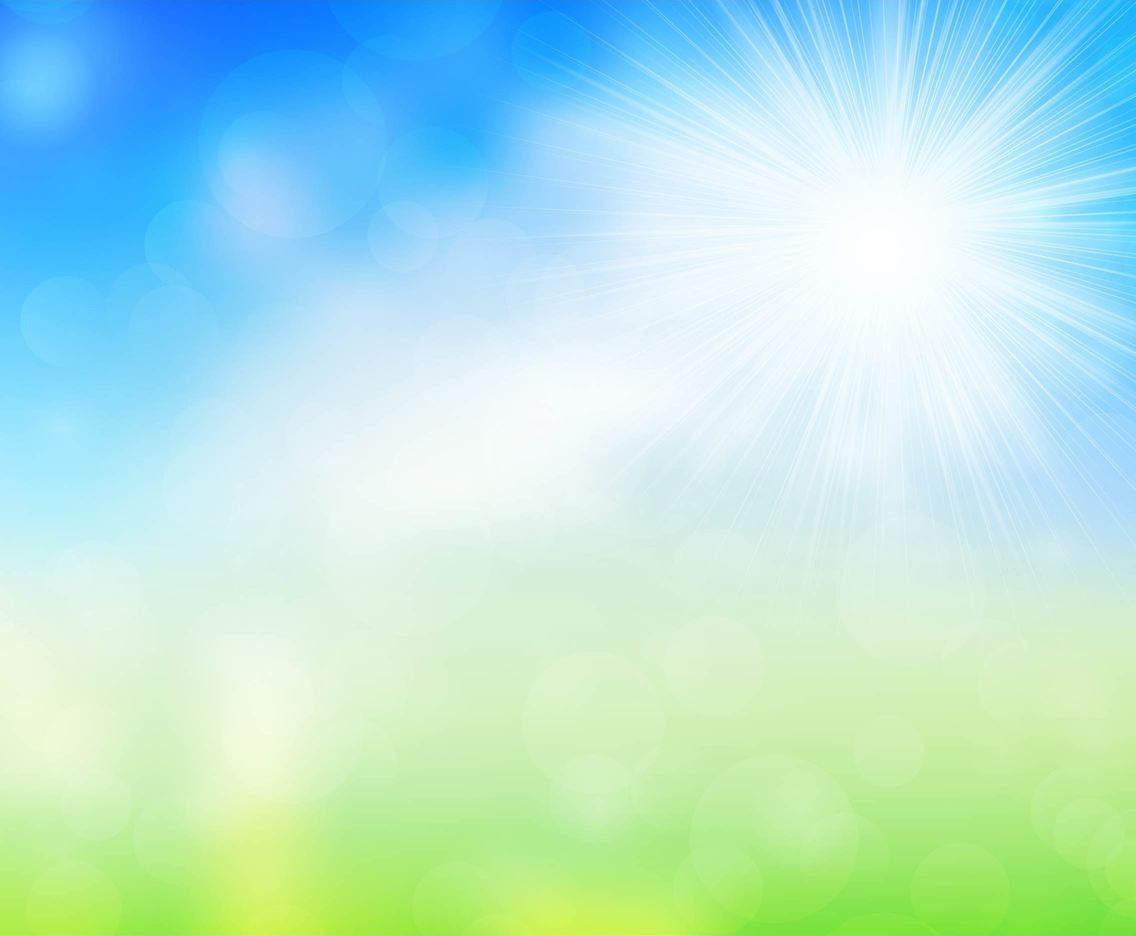 Shiny Free Vector Spring Background