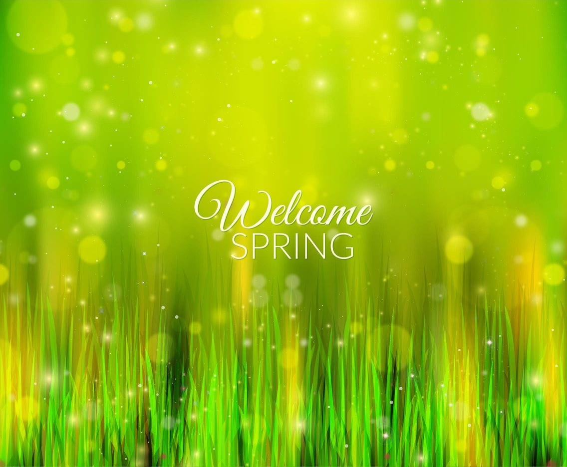 Free Vector Shiny Spring Background
