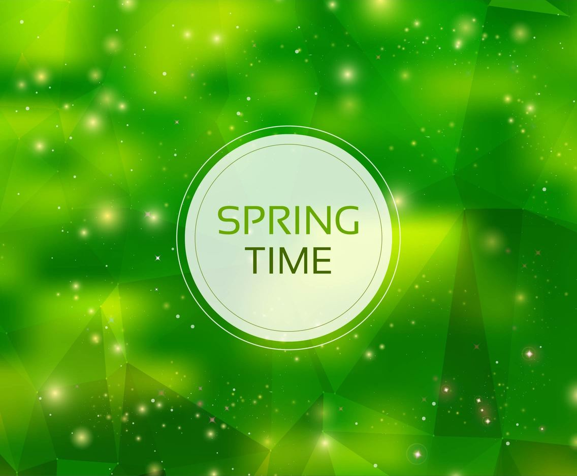 Free Vector Abstract Spring Background