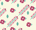 Pink Floral Background Pattern