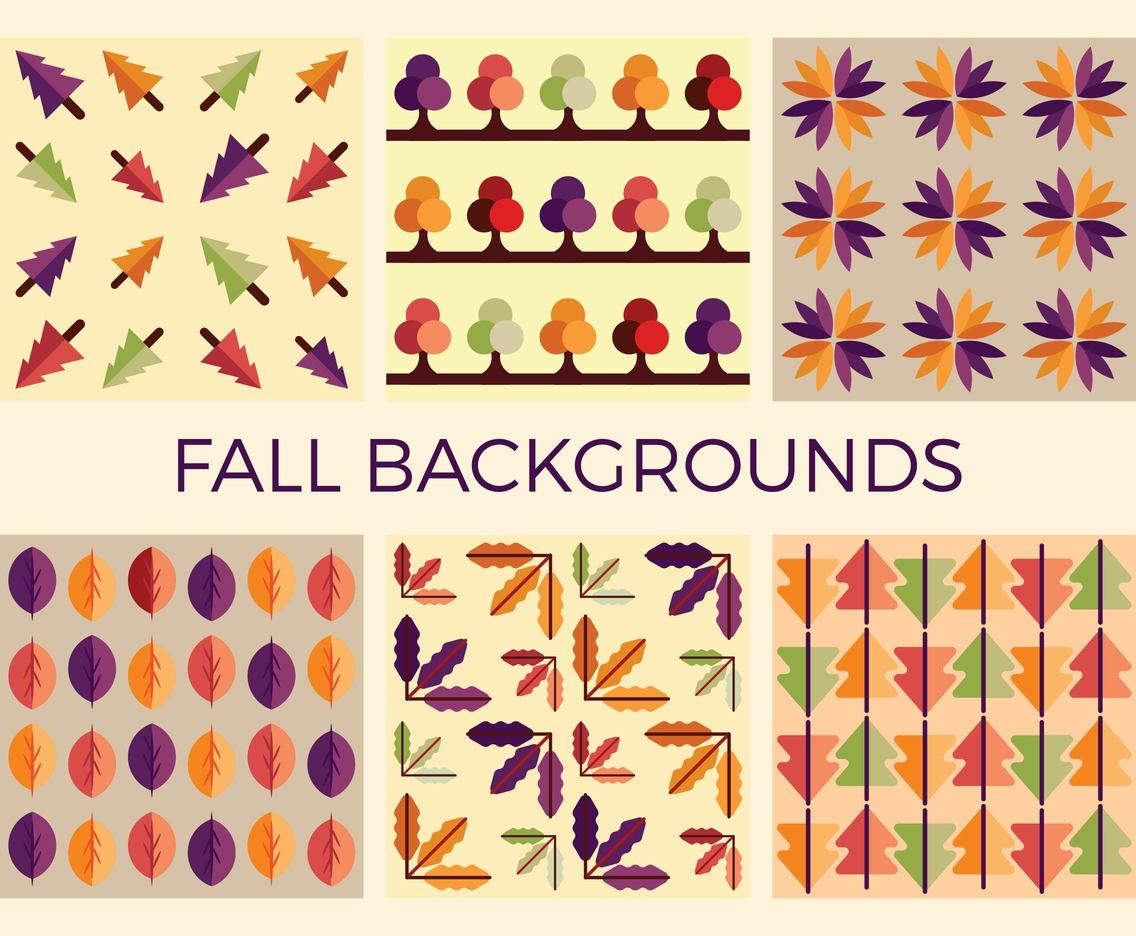 Free Fall Vector Patterns