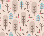 Brown Nature Floral Background Vector