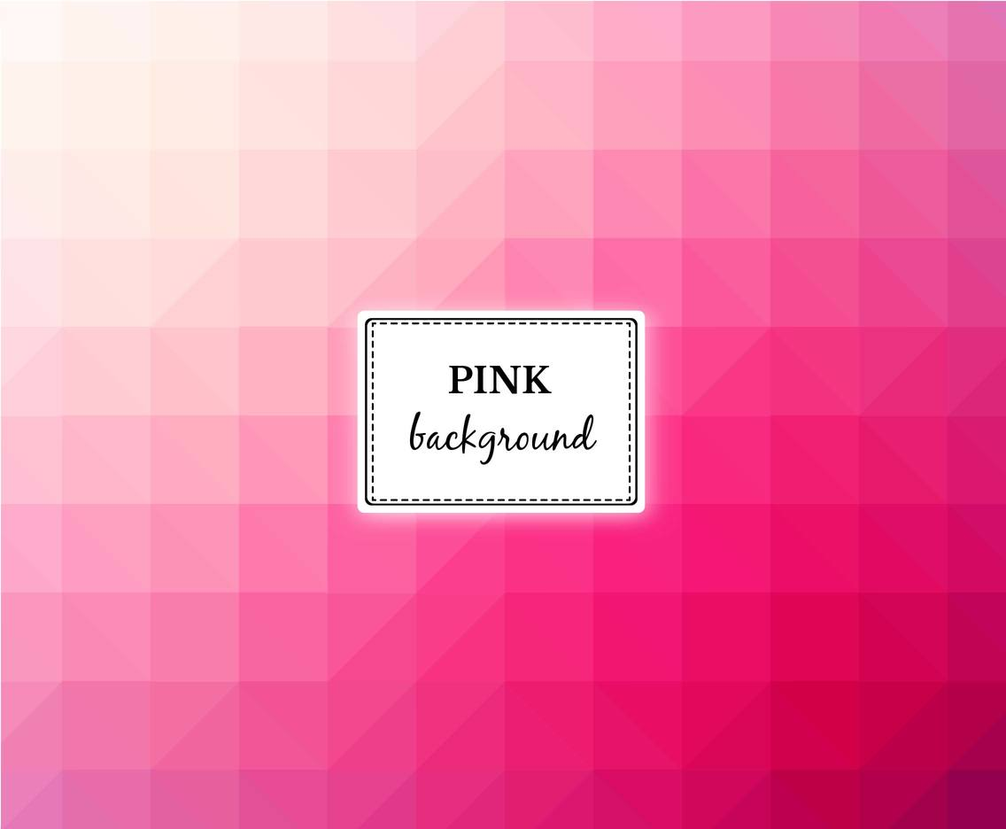 Free Vector Pink Background