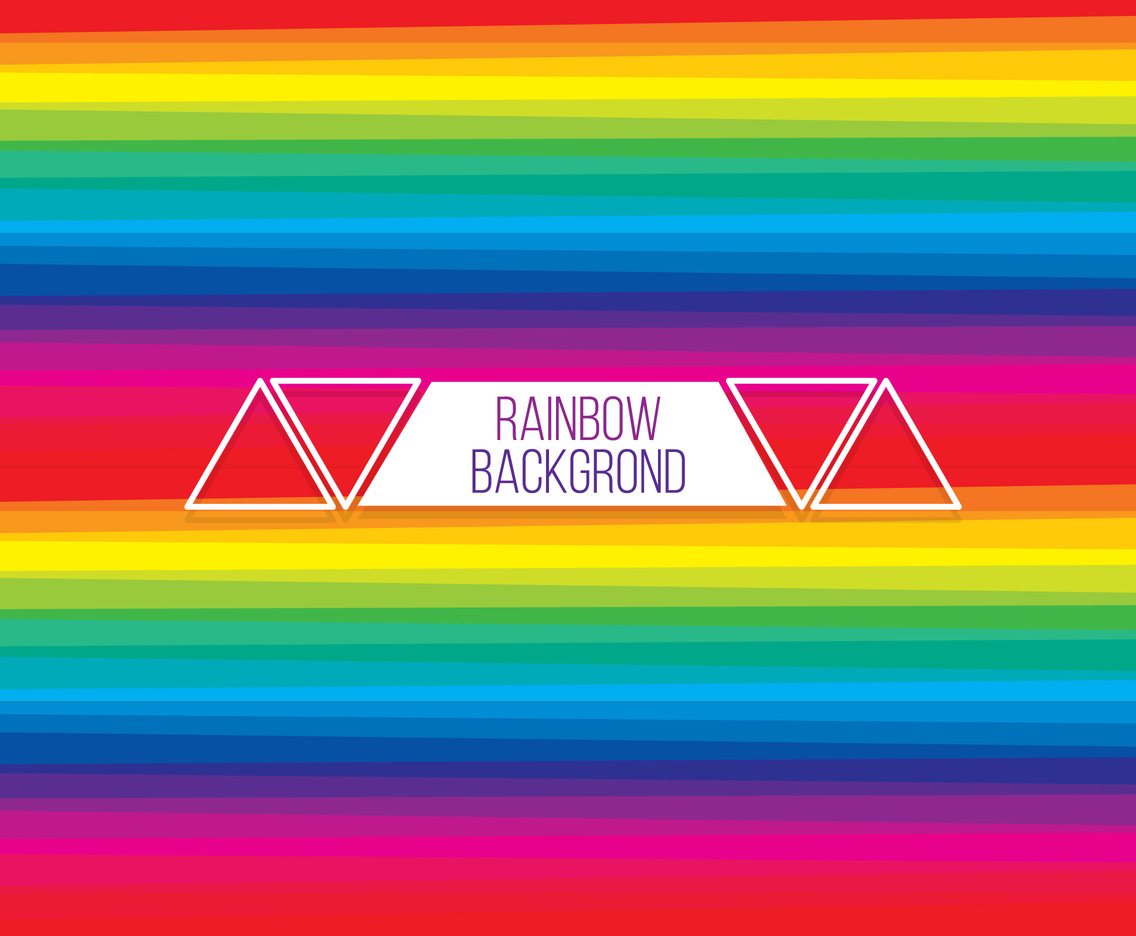 Rainbow Stripe Background