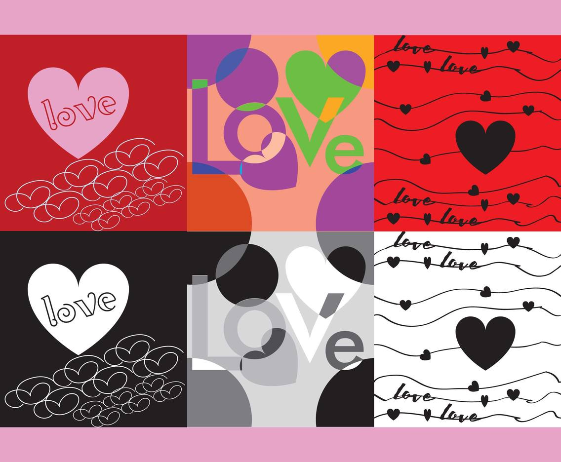 Love Background Vector Art & Graphics | freevector.com