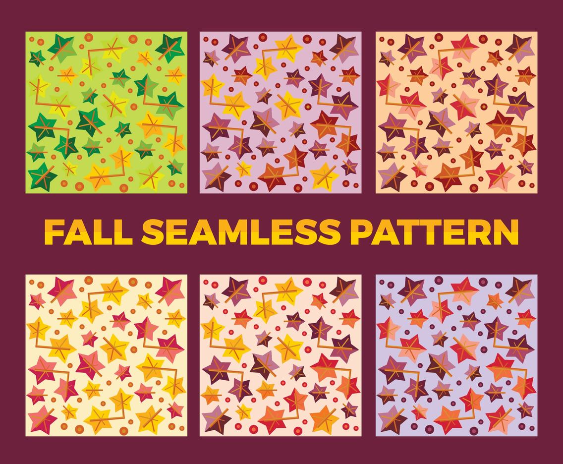 Free Fall Vector Pattern 2