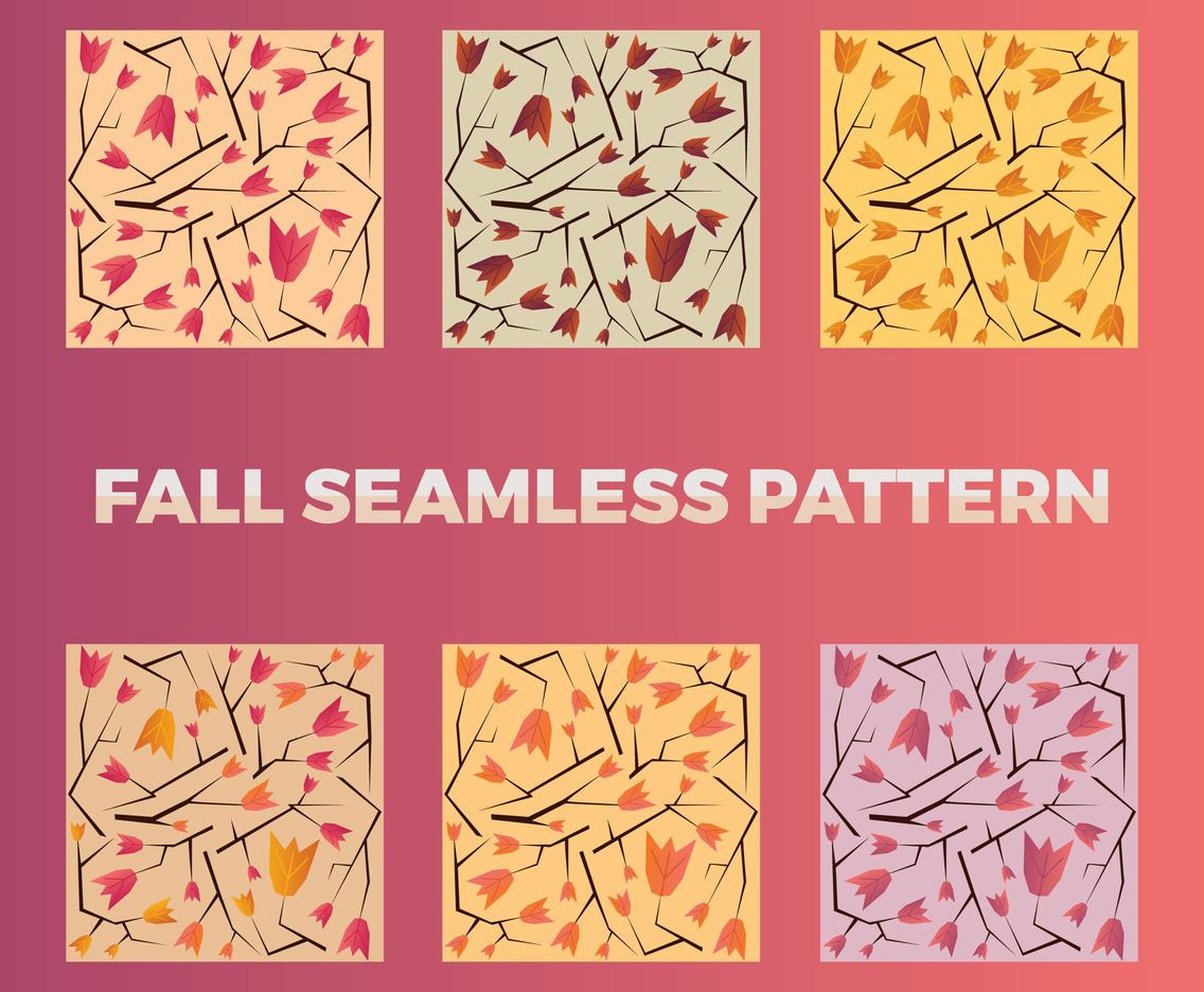 Free Fall Vector Pattern