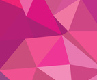 Pink Polygonal Abstract Background