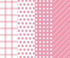 Pink Background Vector Pack