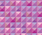 Pink Geometric Tile Vector