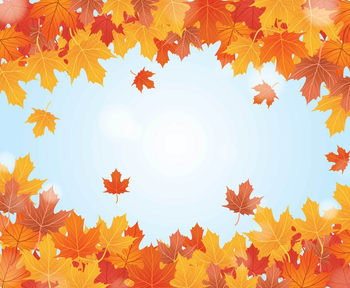 Fall Background Vector Vector Art & Graphics | freevector.com