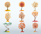 Autumn Tree Vector Bundle