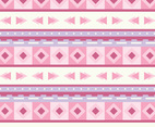 Pink Navajo Background Vector
