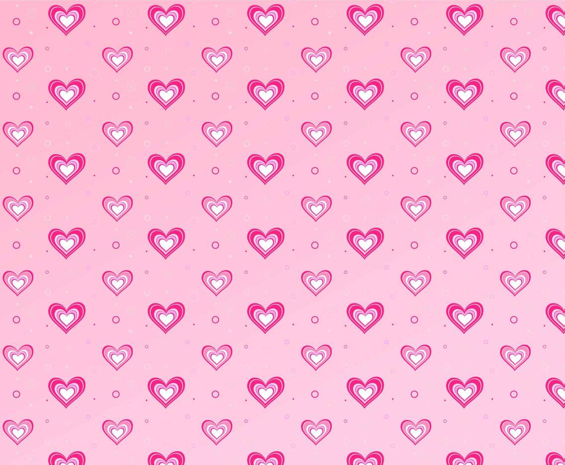 Free Vector Hot Pink Heart Background