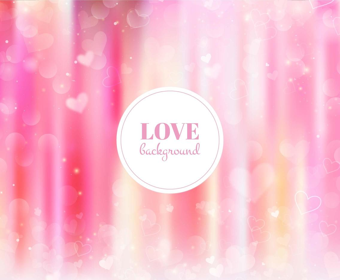 Free Vector Pink Love Background