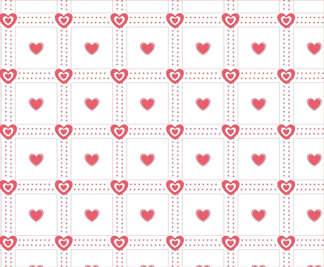 Free Vector Red Heart Love Background