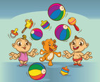 Cute Babies Cartoon