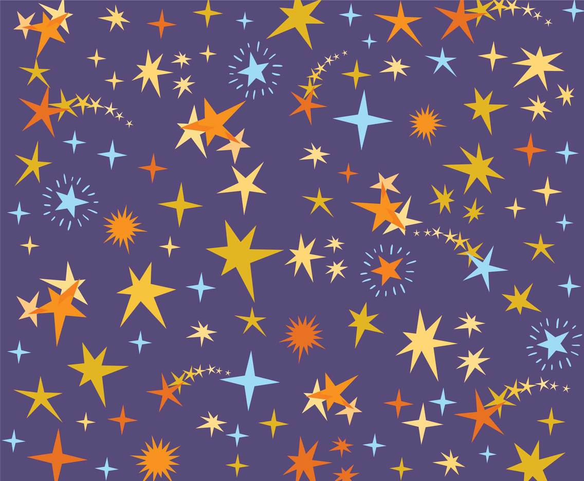 Free Stars Background Vectors