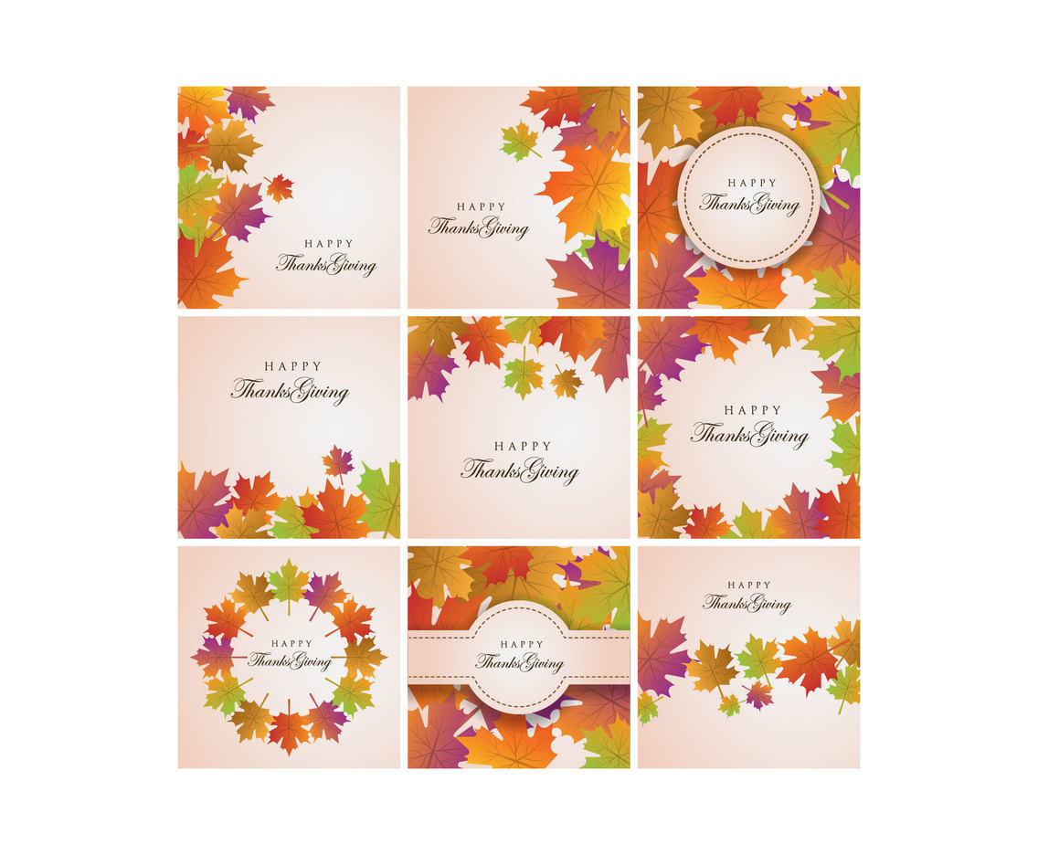 Free Thanksgiving Background Vector