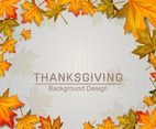 Thanksgiving Background line design