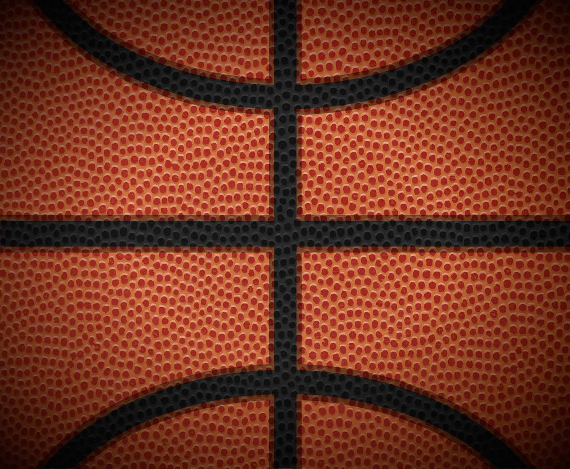 Vector Basketball Ball Texture