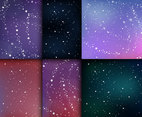 Star Abstract Galaxy Background