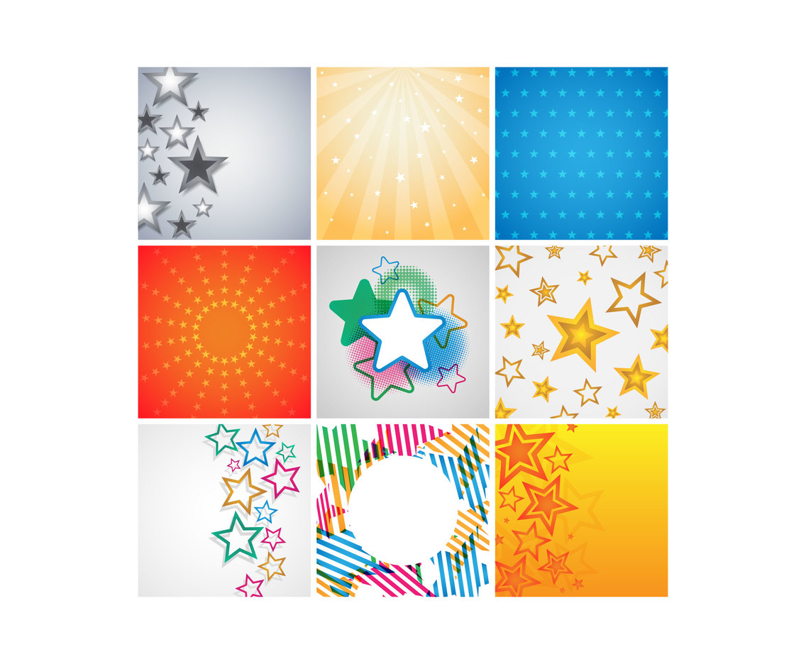 Free Star Background Vectors