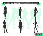 Woman Silhouette Free Vector Pack Vol. 4
