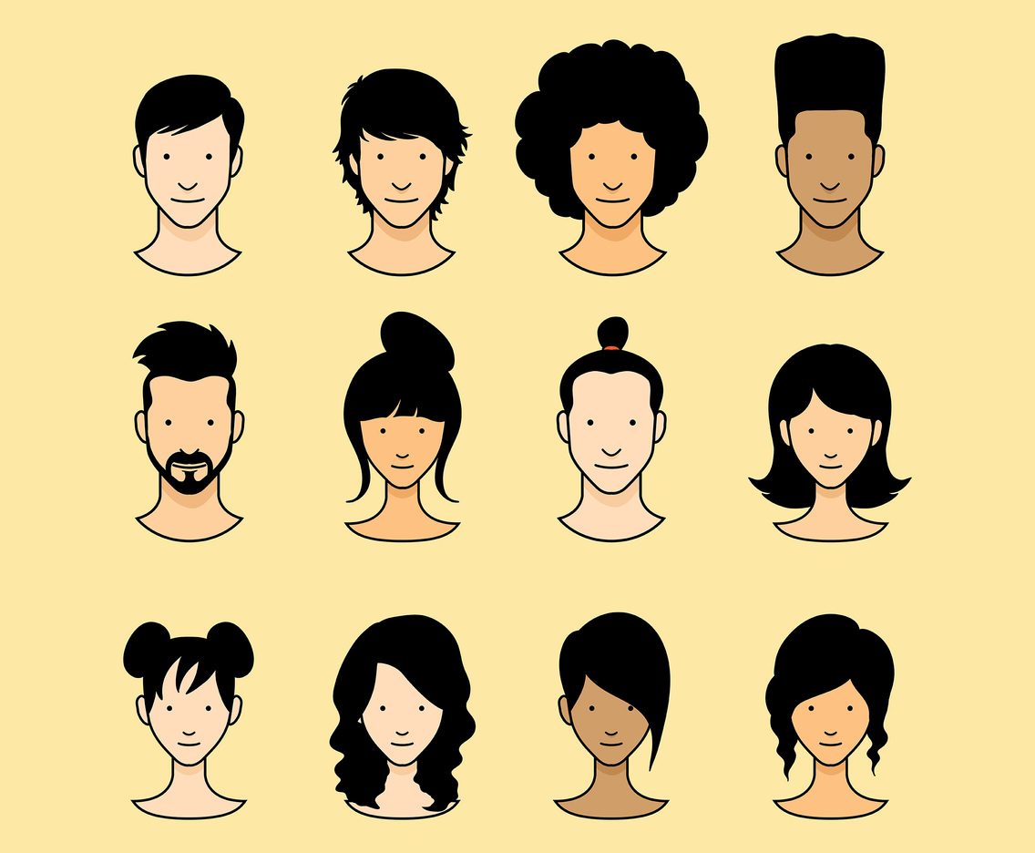 Free Person Icons Vector