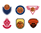 Free Basketball Logos Vector