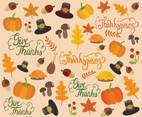 Free Thanksgiving Background Vectors