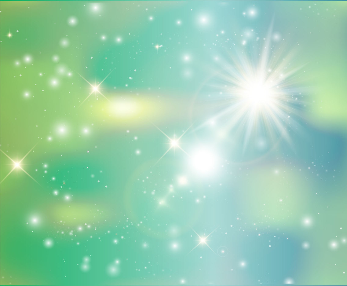 Beautiful Blurred Abstract Star Background