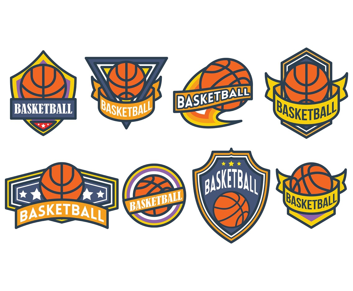 Free Basketball Logo Icons Vector