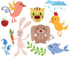 Free Cute Animals Vectors