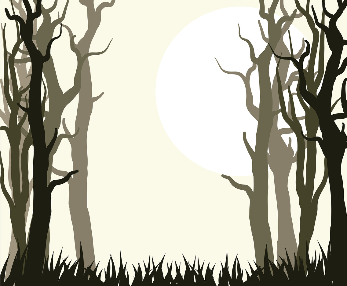 Forest Background Vector 8