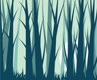 Forest Background Vector 10